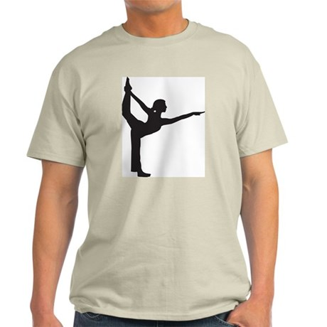 Bikram Yoga Bow Pose Light T-Shirt
