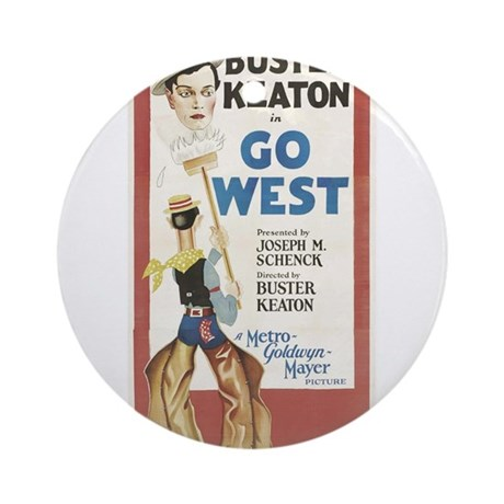 buster keaton Ornament (Round)
