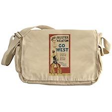 buster keaton Messenger Bag