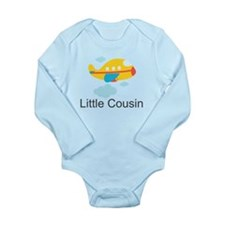 Little Cousin Yellow Airplane Long Sleeve Infant B