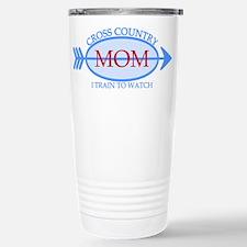 Cross Country Mom Train to Watch Travel Mug