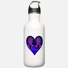 I Love Cleopatra Blue Nile Heart Water Bottle