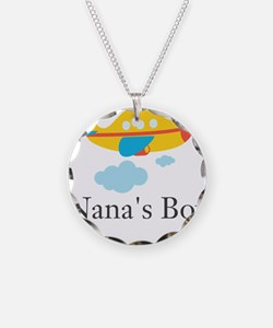 Nanas Boy Yellow Airplane Necklace