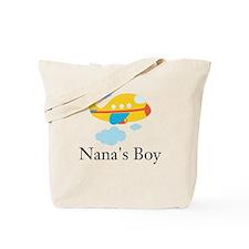 Nanas Boy Yellow Airplane Tote Bag