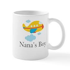 Nanas Boy Yellow Airplane Mug