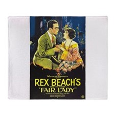 fair lady Throw Blanket
