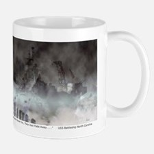 Ghost Ship USS Battleship North Carolina Mug