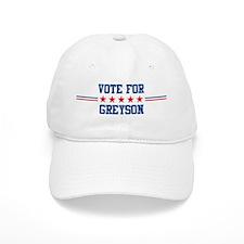 Vote for GREYSON Baseball Cap