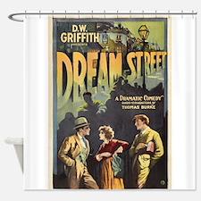 dream street Shower Curtain