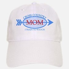 Cross Country Mom Train to Watch Baseball Baseball Cap