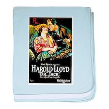 harold lloyd baby blanket