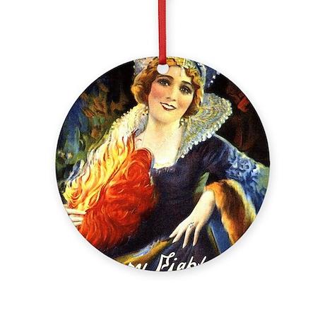mary pickford Ornament (Round)