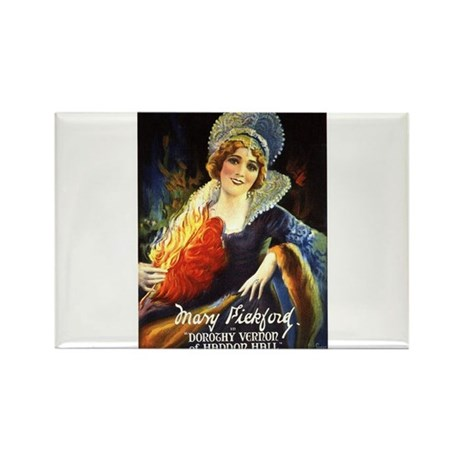mary pickford Rectangle Magnet (100 pack)