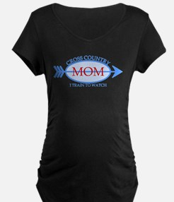 Cross Country Mom Train to Watch T-Shirt