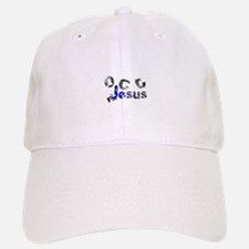 OCD for Jesus blue Baseball Baseball Cap
