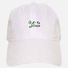 OCD for Jesus green Baseball Baseball Cap