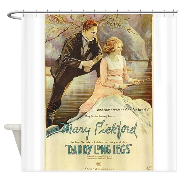 daddy long legs shower curtain by yesterads. Black Bedroom Furniture Sets. Home Design Ideas