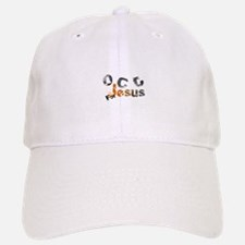 OCD for Jesus orange Baseball Baseball Cap