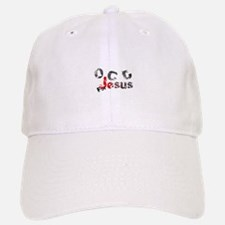 OCD for Jesus red Baseball Baseball Cap