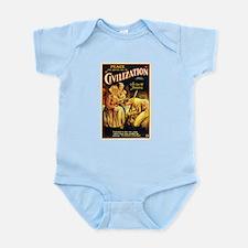 civilization Infant Bodysuit