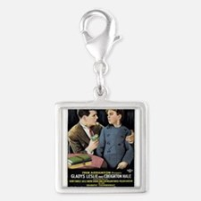 a child for sale Silver Square Charm