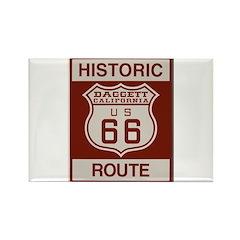 Daggett Route 66 Rectangle Magnet (100 pack)