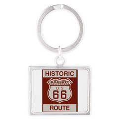 Daggett Route 66 Landscape Keychain