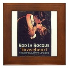braveheart Framed Tile