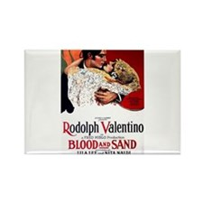 rudolph valentino Rectangle Magnet