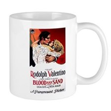 rudolph valentino Small Mug