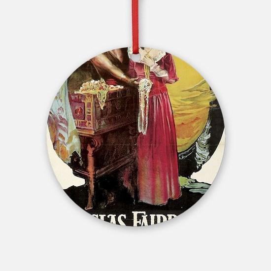 douglas fairbanks Ornament (Round)