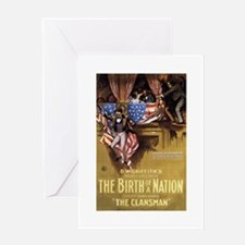 the birth of a nation Greeting Card