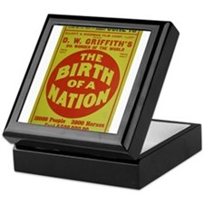 the birth of a nation Keepsake Box