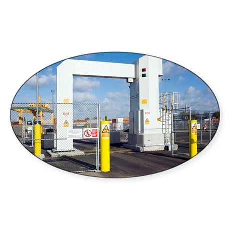 Container port security - Sticker (Oval 50 pk)