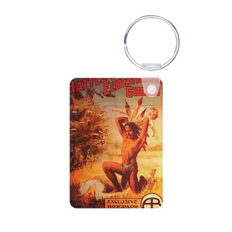 battle of elderbush gulch Aluminum Photo Keychain
