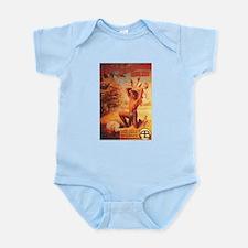 battle of elderbush gulch Infant Bodysuit