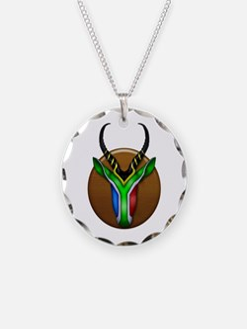 Springbok Trophy Necklace