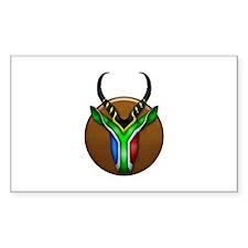 Springbok Trophy Decal
