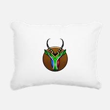 Springbok Trophy Rectangular Canvas Pillow