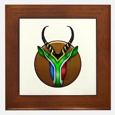 Springbok Trophy Framed Tile