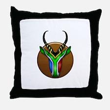 Springbok Trophy Throw Pillow