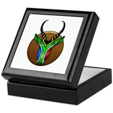 Springbok Trophy Keepsake Box