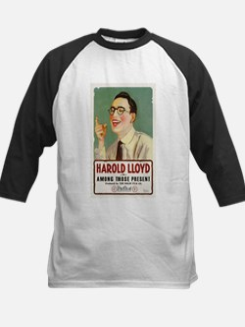harold lloyd Kids Baseball Jersey
