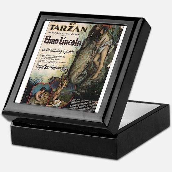 tarzan Keepsake Box