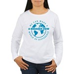 azul.png Women's Long Sleeve T-Shirt