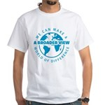 Blue - White T-Shirt