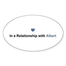 Albert Relationship Oval Decal