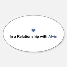 Alvin Relationship Oval Decal