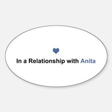 Anita Relationship Oval Decal