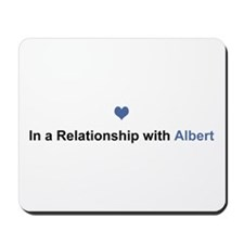 Albert Relationship Mousepad